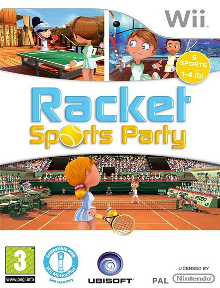 Racket Sports Party (AKA Racquet Sports) Nintendo Wii Game