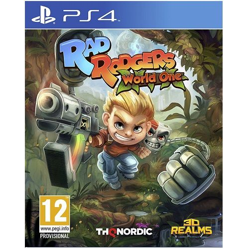 Rad Rodgers PS4 Game