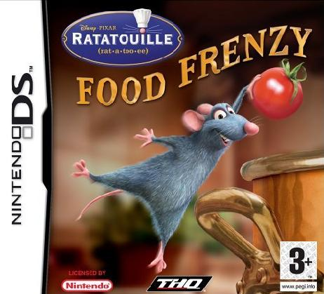 Ratatouille Food Frenzy Nintendo DS Game