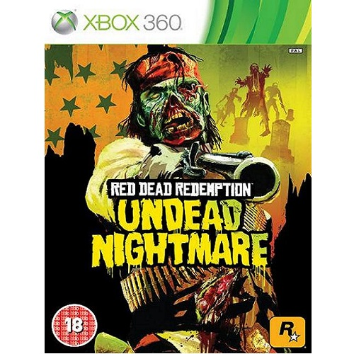 Red Dead Redemption Undead Nightmare Xbox 360 Game