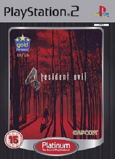 Resident Evil 4 Platinum PS2 Game