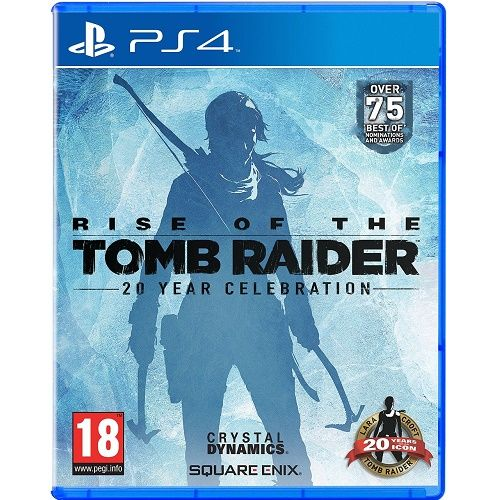 Rise of the Tomb Raider 20 Year Celebration Artbook Edition PS4 Game