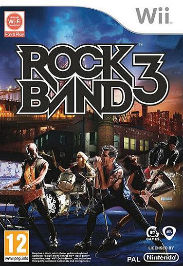 Rock Band 3 Nintendo Wii Game
