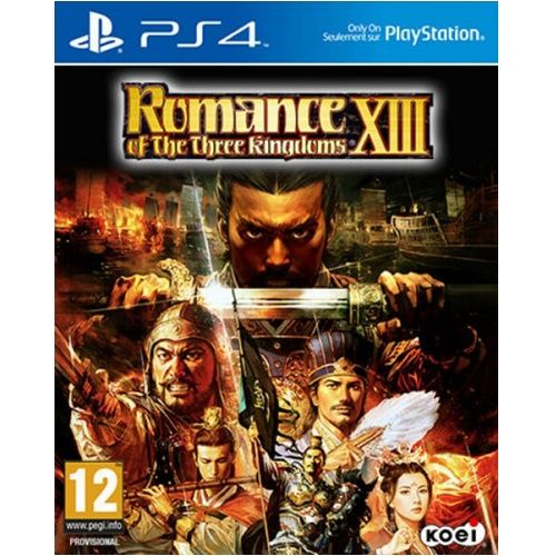 Romance of the Three Kingdoms XIII PS4 Game