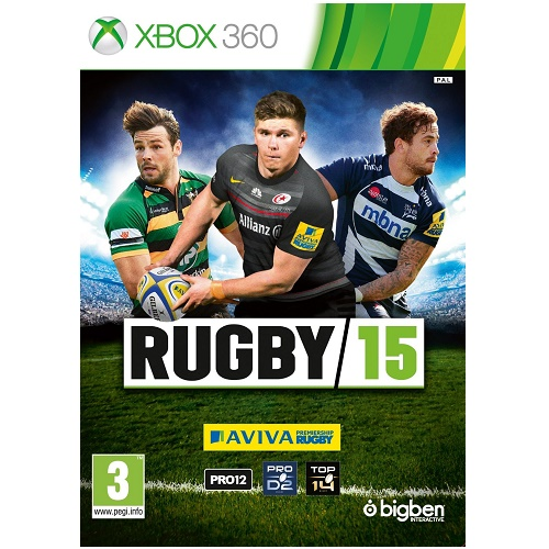 Rugby 15 Xbox 360 Game
