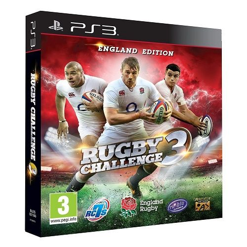 Rugby Challenge 3 PS3 Game