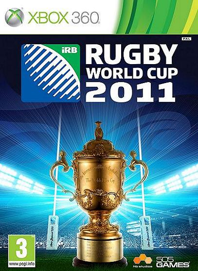 Rugby World Cup 2011 Xbox 360 Game
