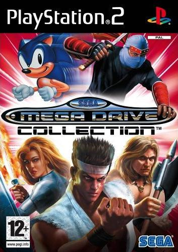 SEGA Mega Drive Collection PS2 Game