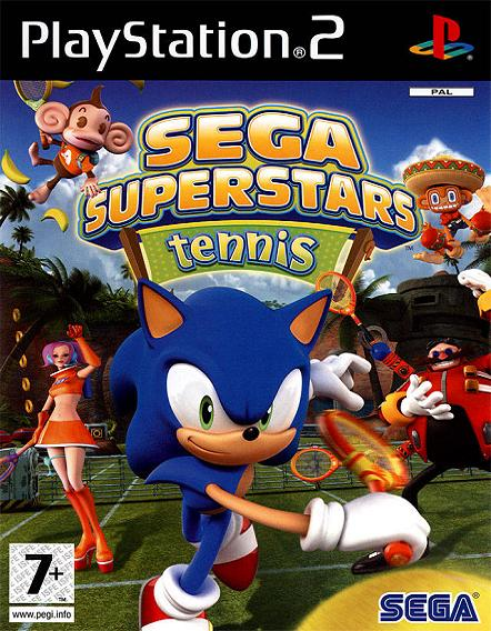SEGA Superstars Tennis PS2 Game