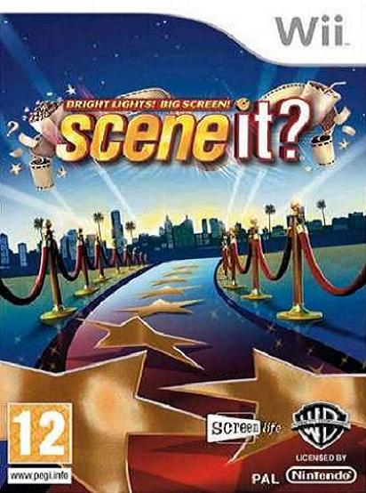 Scene It! Bright Lights Big Screen Nintendo Wii Game