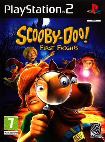 Scooby-Doo! First Frights PS2 Game