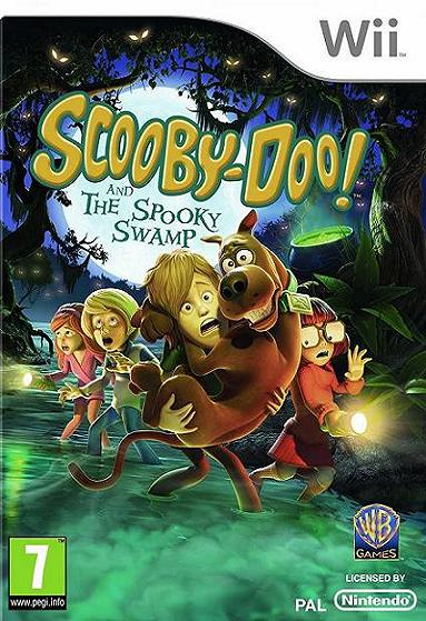 Scooby-Doo and the Spooky Swamp Nintendo Wii Game