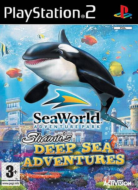 Shamu's Deep Sea Adventures PS2 Game