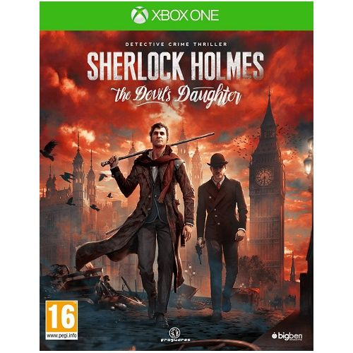 Sherlock Holmes The Devils Daughter Xbox One Game