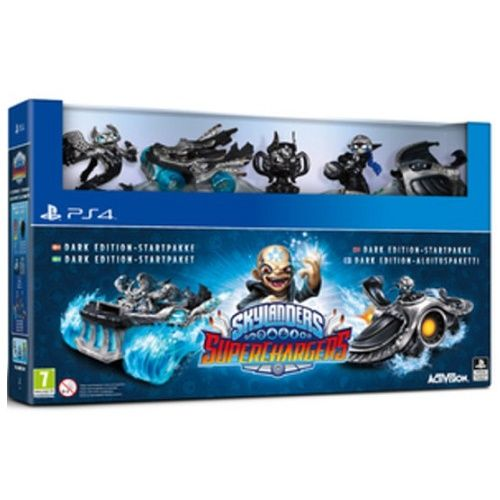 Skylanders Superchargers Dark Edition PS4 Game