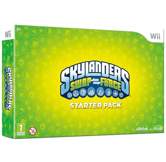 Skylanders Swap Force Starter Pack Nintendo Wii Game