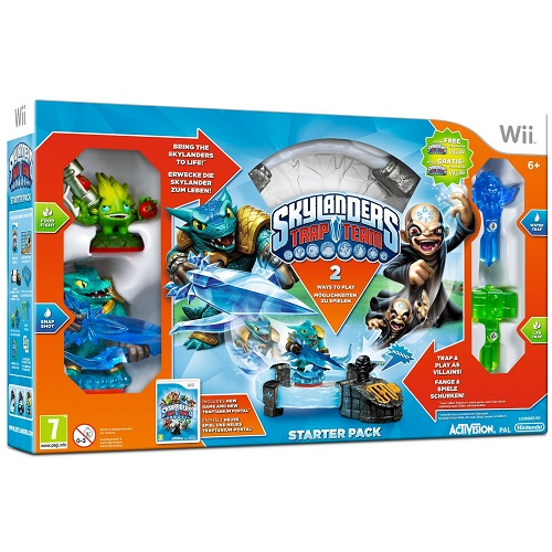 Skylanders Trap Team Starter Pack Nintendo Wii Game