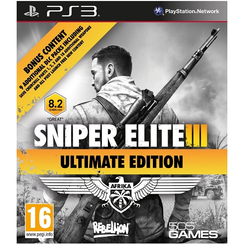 Sniper Elite III (3) Ultimate Edition PS3 Game