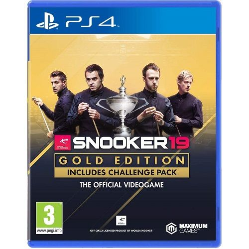 Snooker 19 GOLD EDITION PS4 Game