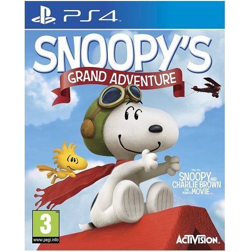 Snoopys Grand Adventure PS4 Game