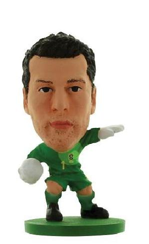 Soccerstarz Brazil Julio Cesar Home Kit