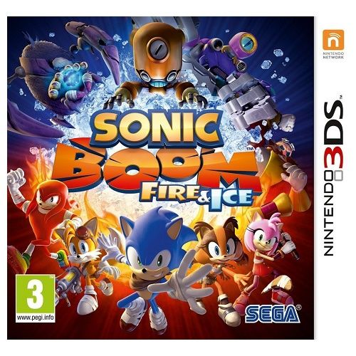 Sonic Boom Fire & Ice 3DS Game