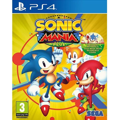 Sonic Mania Plus PS4 Game - Gamereload.co.uk