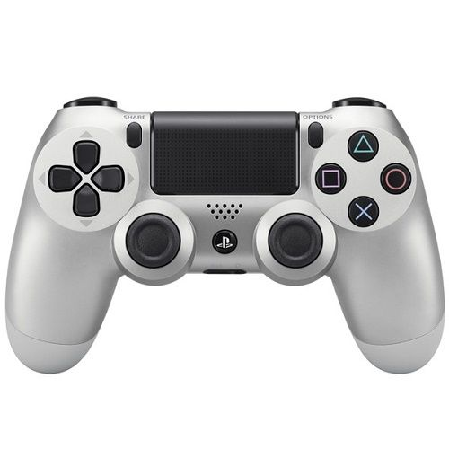Sony Playstation Dualshock 4 Controller Silver PS4