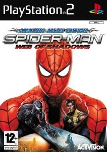Spider-Man Web of Shadows PS2 Game