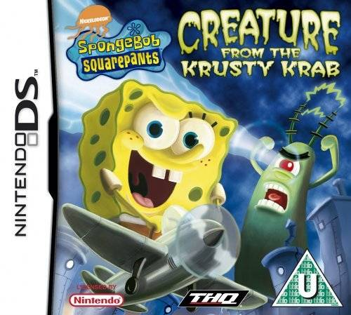 Spongebob: Creature From Krusty Krab for Nintendo DS