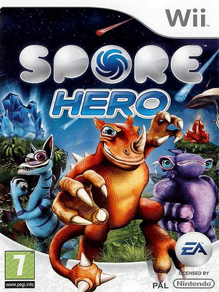 Spore Hero Nintendo Wii Game