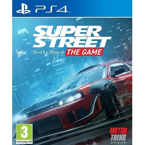 Super Street The Game PS4 Game - Gamereload