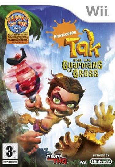 Tak Guardians of Gross Nintendo Wii Game