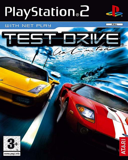 Test Drive Unlimited PS2 Game