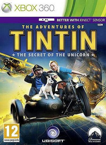 The Adventures of Tintin The Game Xbox 360 Game