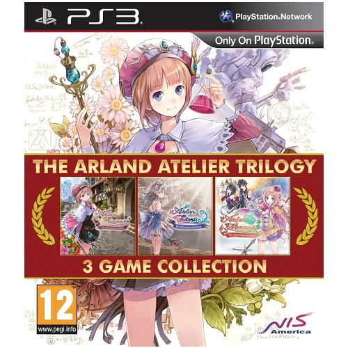The Arland Atelier Trilogy PS3 Game