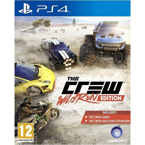 The Crew Wild Run Edition PS4 Game