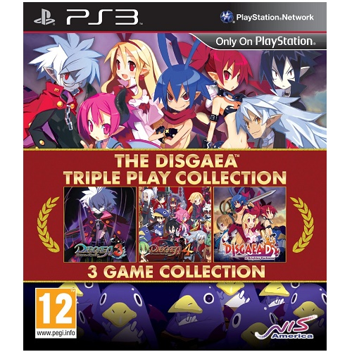 The Disgaea Triple Play Collection PS3 Game