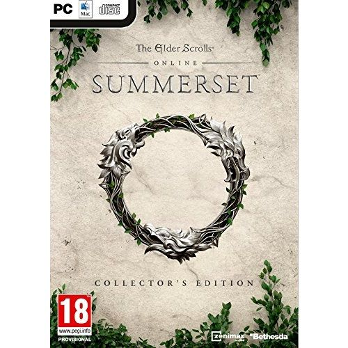 The Elder Scrolls Online Summerset Collectors Edition PC Game