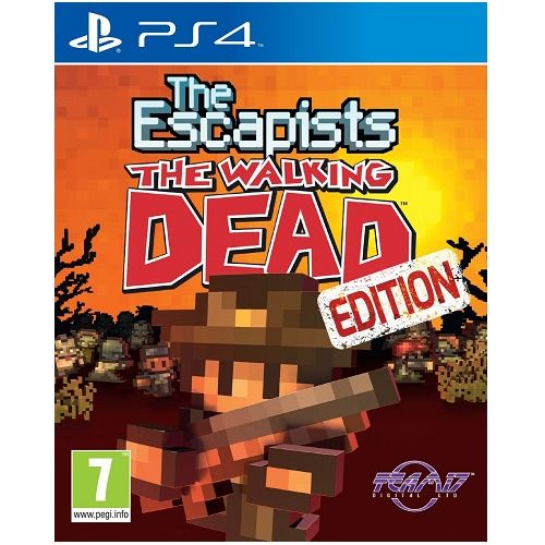 The Escapists The Walking Dead PS4 Game