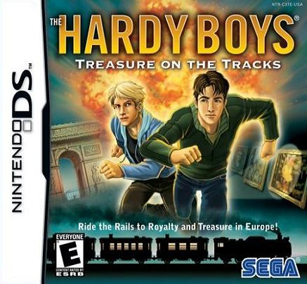 The Hardy Boys Treasure on the Tracks Nintendo DS Game