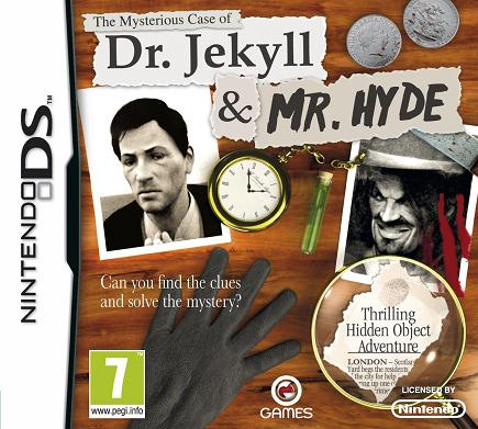 The Mysterious case of Dr Jekyll and Mr Hyde Nintendo DS Game