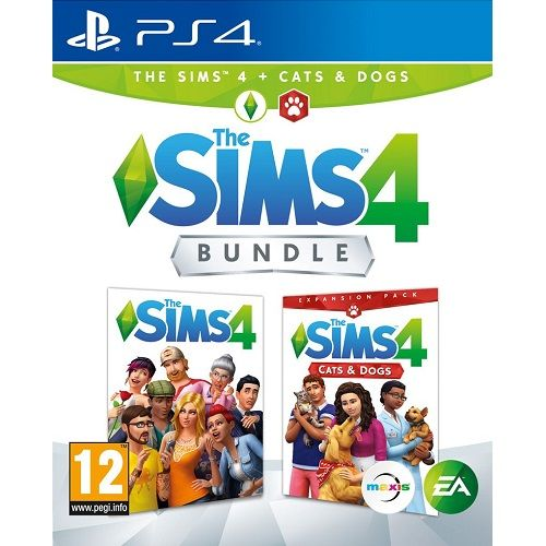 The Sims 4 + Cats and Dogs Bundle PS4 Game