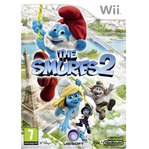 The Smurfs 2 Nintendo Wii Game
