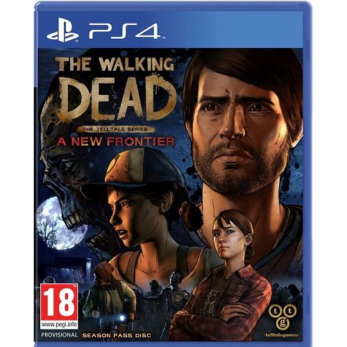 The Walking Dead Telltale Series New Frontier PS4 Game
