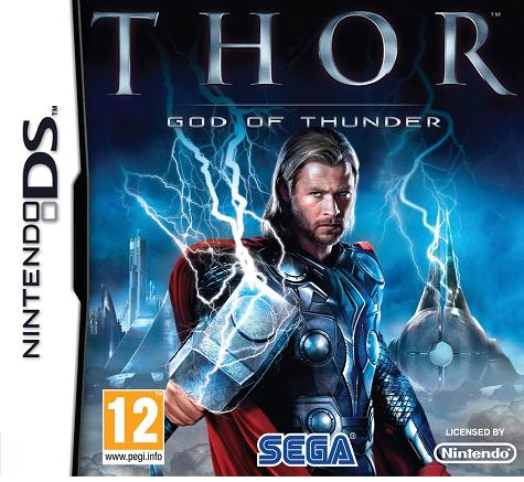 Thor The Video Game Nintendo DS Game