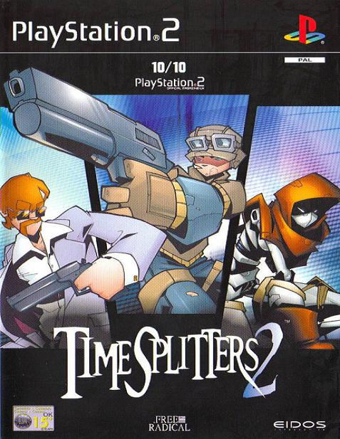 Timesplitters 2 PS2 Game