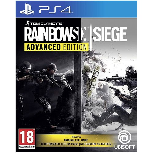 Rainbow Six Siege Advanced Edition on PS4 | Gamereload