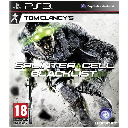 Tom Clancys Splinter Cell Blacklist Upper Echelon Edition PS3 Game
