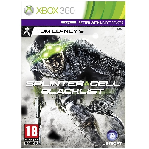 Tom Clancys Splinter Cell Blacklist Upper Echelon Edition Xbox 360 Game